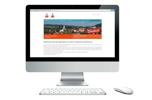 Neuer Internetauftritt der Suso Apotheke Dr. Vetter